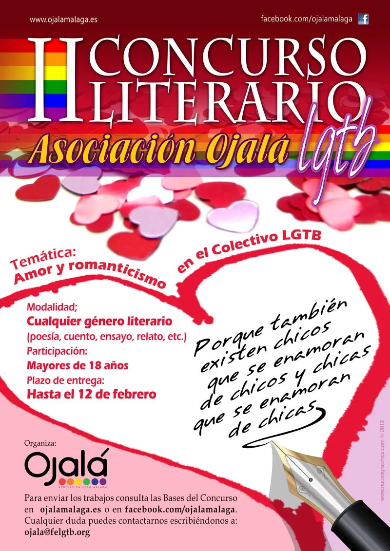 II CONCURSO LITERARIO LGTB