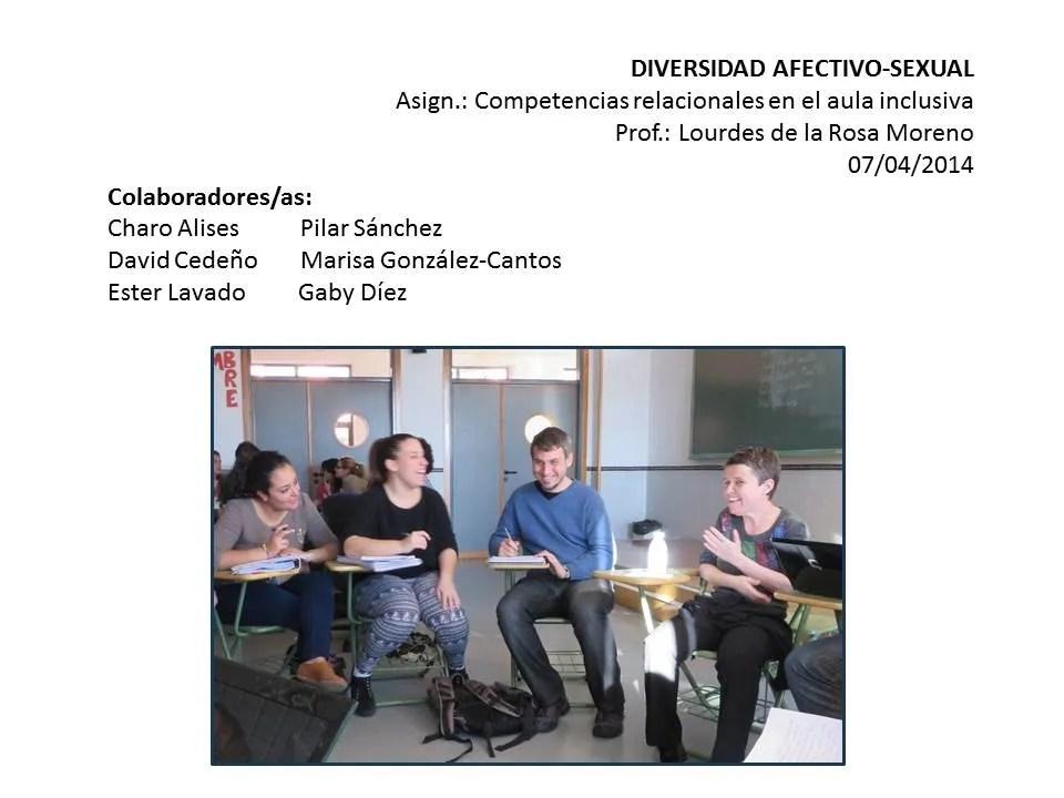 Charla en la facultad de Magisterio de Málaga