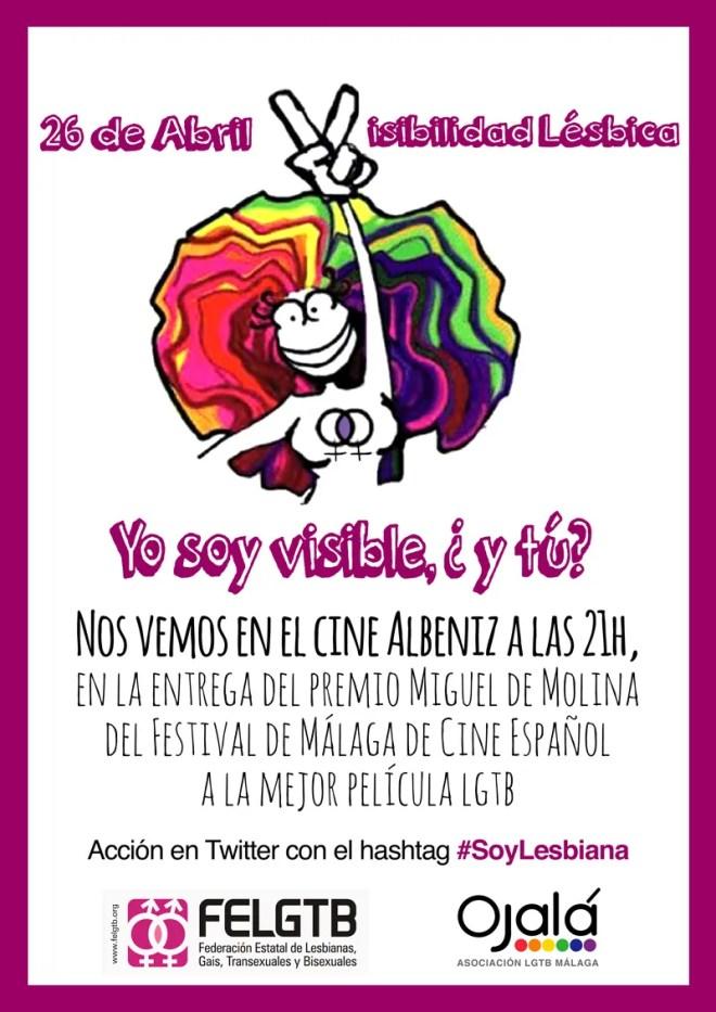 26 de abril, día por la visibilidad lésbica