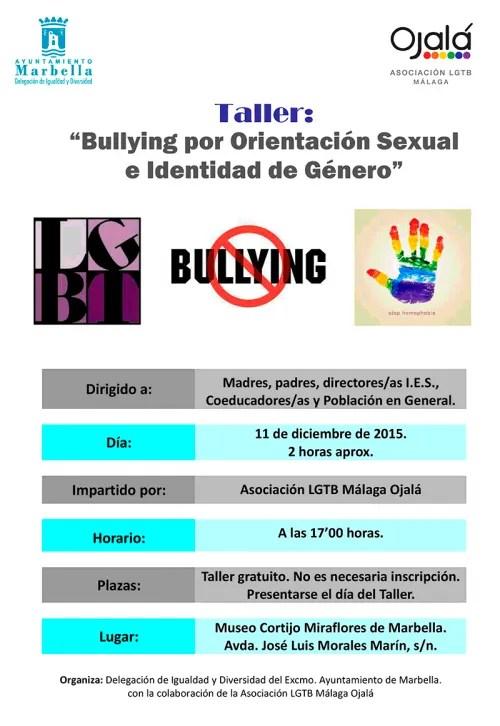 Taller Bullying por Orientación Sexual e Identidad de Género