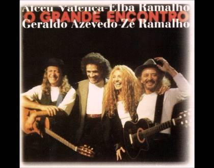 O Grande Encontro - Elba Ramalho, Alceu Valença, Geraldo Azevedo e Zé Ramalho