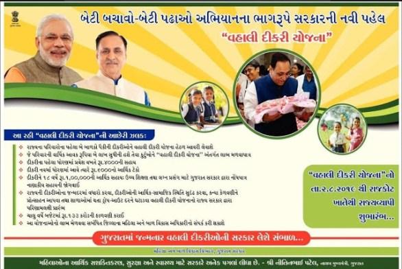 Gujarat Vahli Dikri Yojana Form 2021