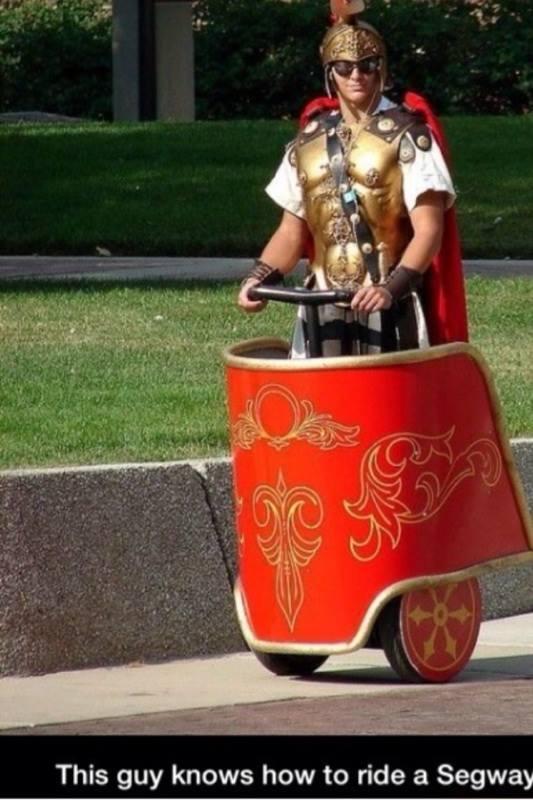 centurion on segway