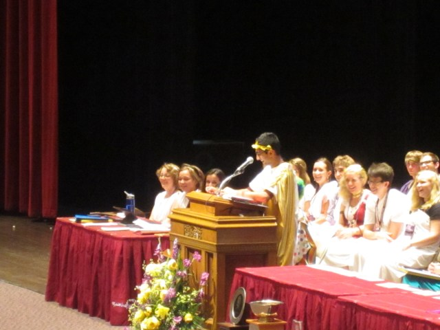 Narayan gives his farewell address.