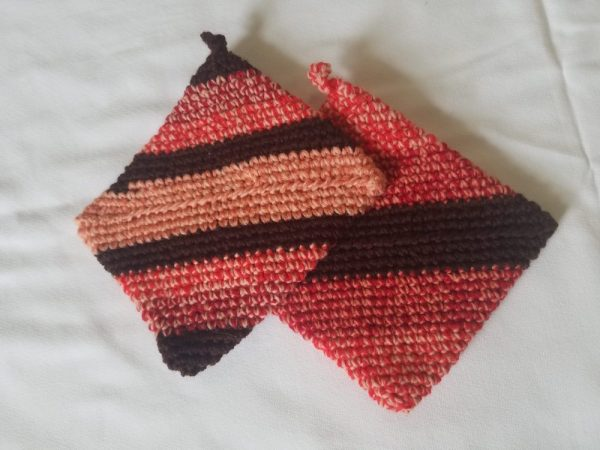 Hand-knitted Pot Holders
