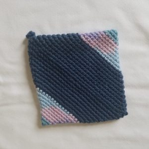 Hand-knitted Pot Holder
