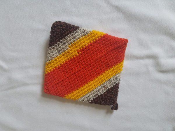 Hand-knitted Pot Holder