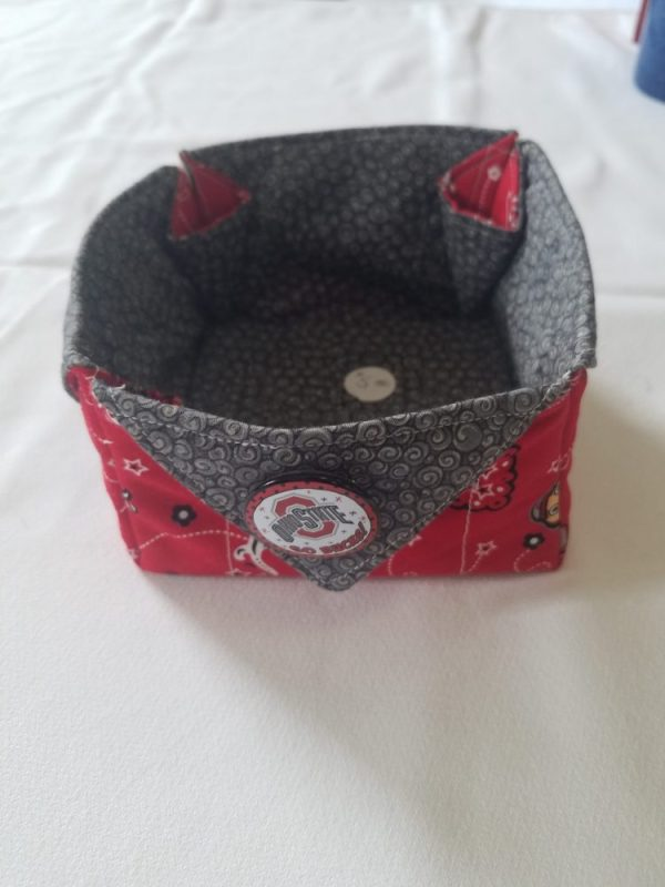 Ohio State Cloth Basket
