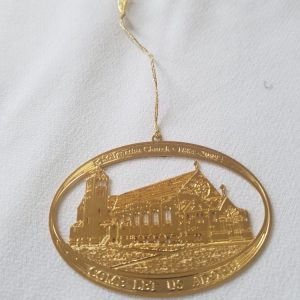 Commemorative Gold Ornament - St. Ignatius Church