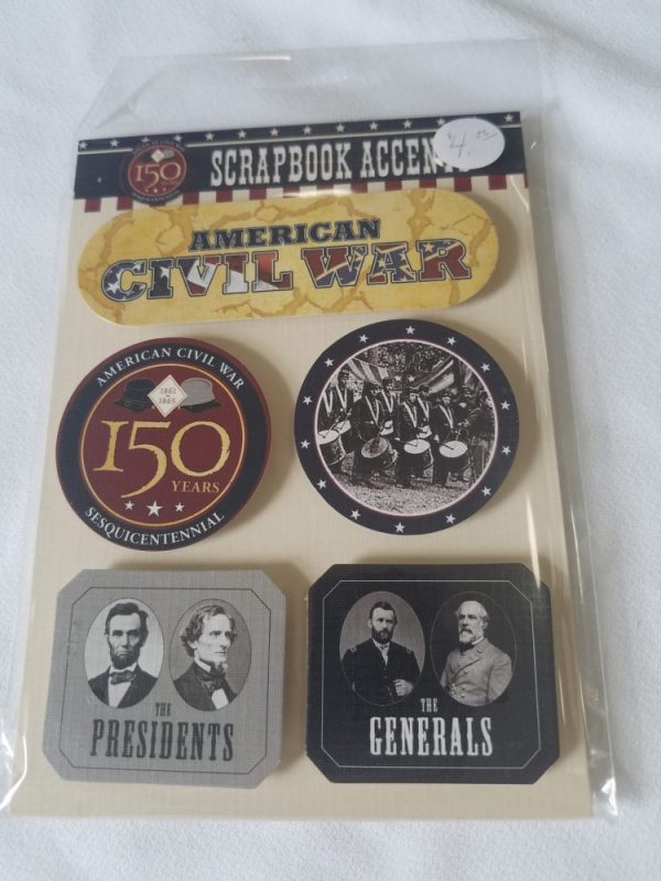 American Civil War Scrapbook Accents