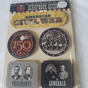American Civil War Scrapbook Accents