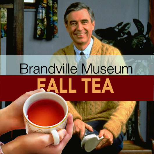 Fall Tea with Mr Rogers OJHS