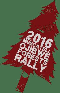 2016 Ojibwe Forests Rally logo