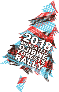2018 Ojibwe Forests Rally logo