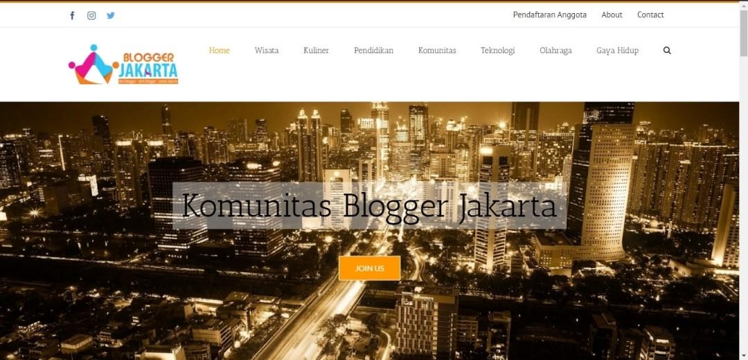 KOMUNITAS BLOGGER JAKARTA – BLOGGERJAKARTA.COM