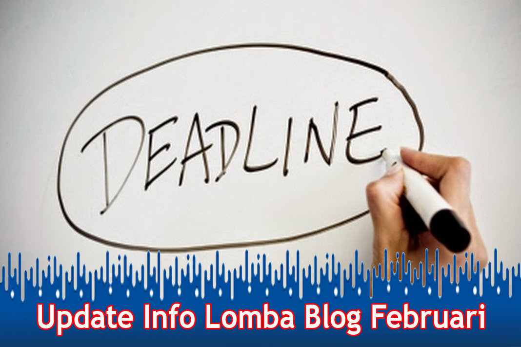 Update Info Lomba Blog Februari