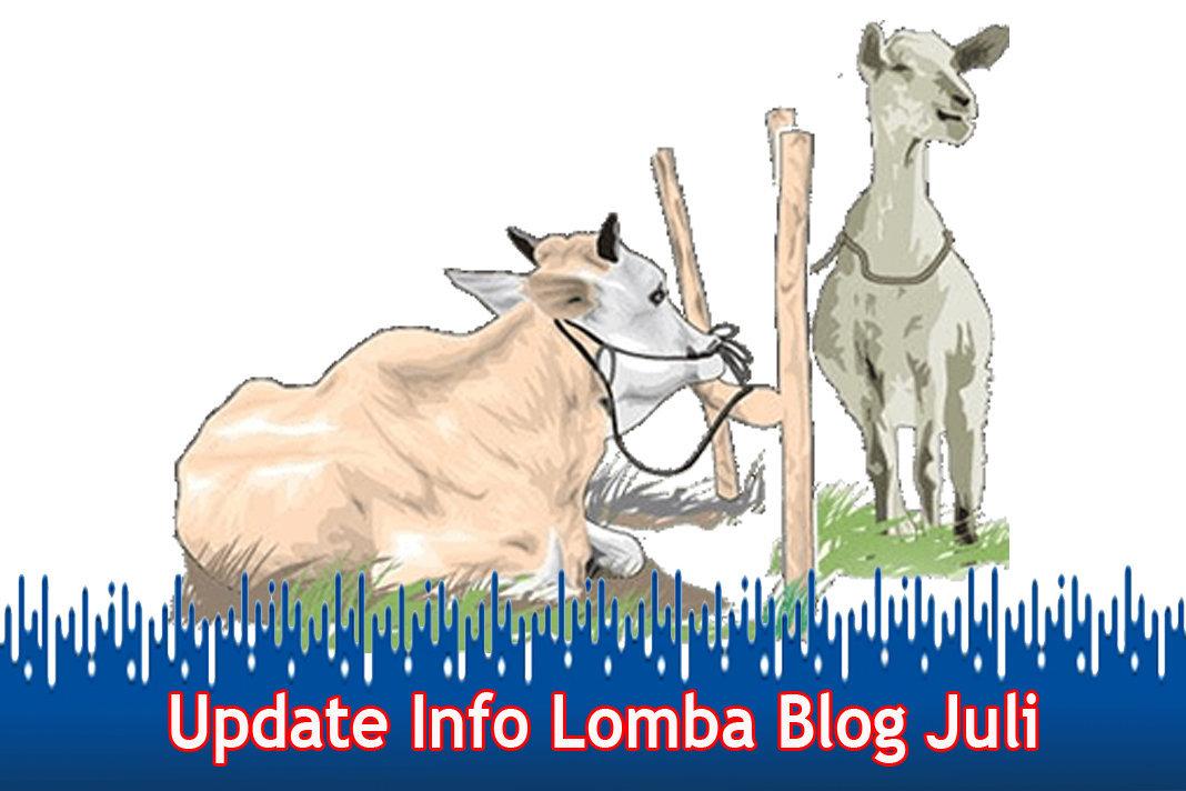 Update Info Lomba Blog Juli