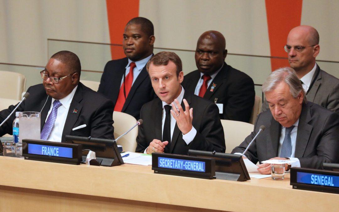 Macron advierte que mantendrá equilibrios de Acuerdo de París sobre clima