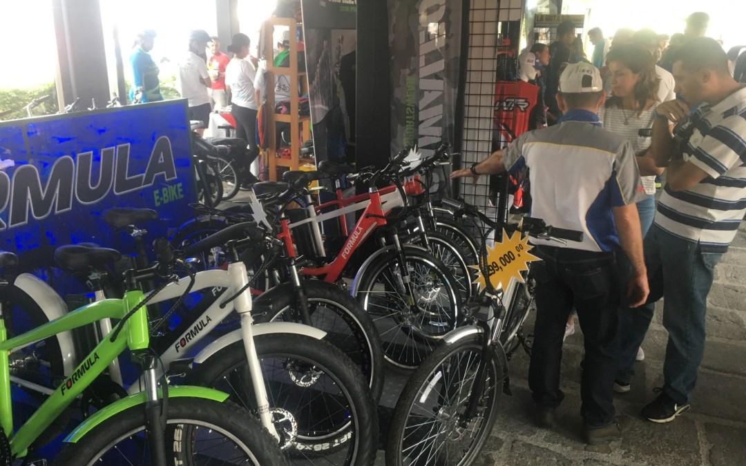 Bicicletas eléctricas cobran presencia en Expo Bici