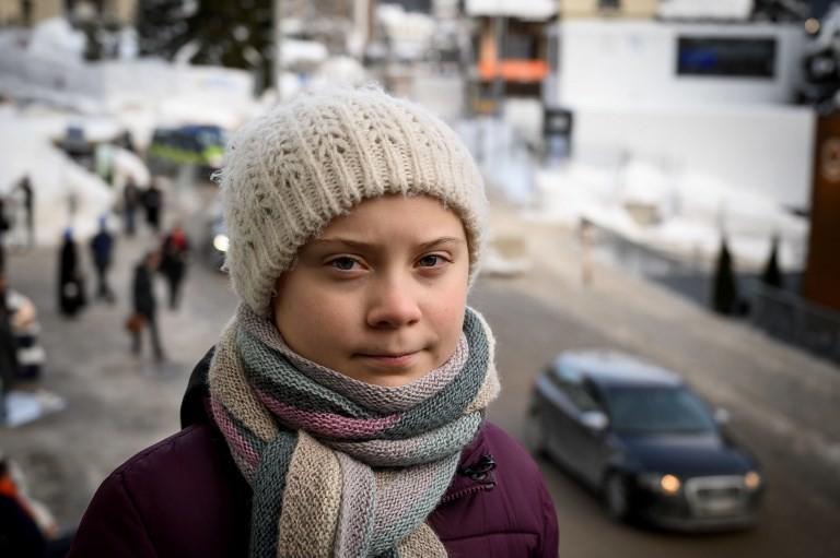 El combate en Davos de una adolescente de 16 contra el cambio climático