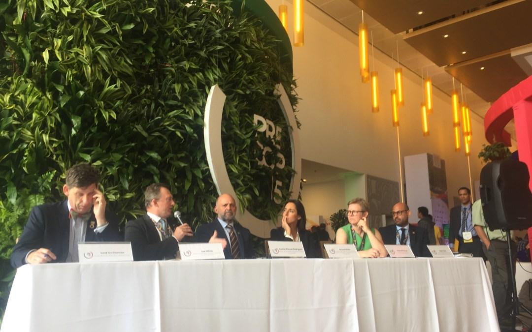 Coalición liderada por Costa Rica dio primeros signos de vida en la PreCOP