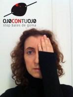 Carmela Lloret se une a la campaña Ojocontuojo