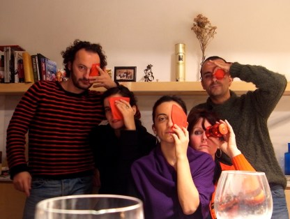 Albert, Montse, Tanja, Sergio, Juliette