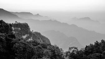 Sobre las cumbres de la Sierra Negra, Sur de Puebla.