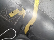 Suivre le chemin jaune