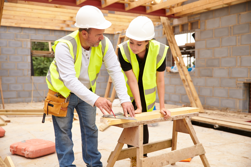Carpenter With Apprentice