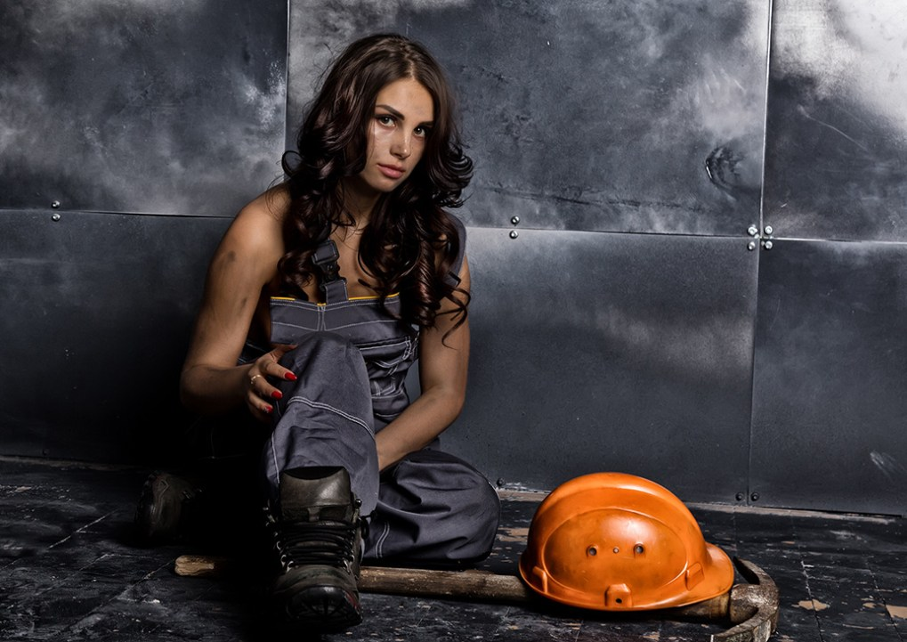 Blue Collar Woman