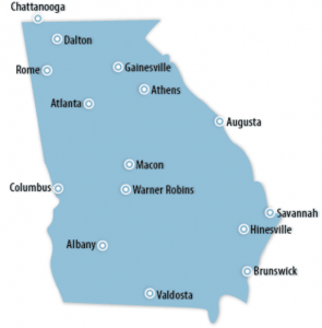 Georgia Locations for Job Training