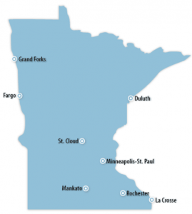 Minnesota Locations for Job Training