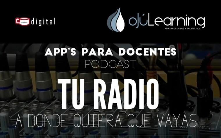 App's para docentes, el Podcast
