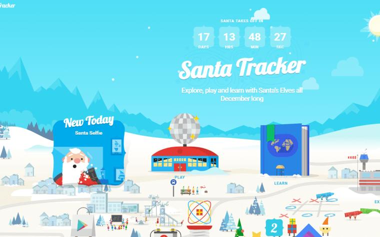 Santa Claus nos enseña a programar. SantaTracker