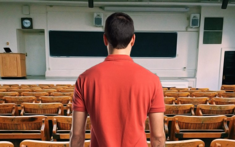 El Síndrome del aula vacía