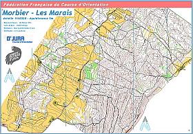 Morbier les marais, état 2011, 1/1000, A4