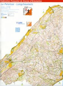 Cartes de course d'orientation Ojura : la Pelaisse