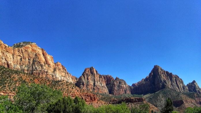 Aussicht im Zion Nationalpark