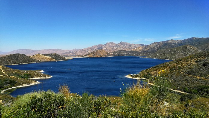 Silverwood Lake in den San Bernardino Bergen