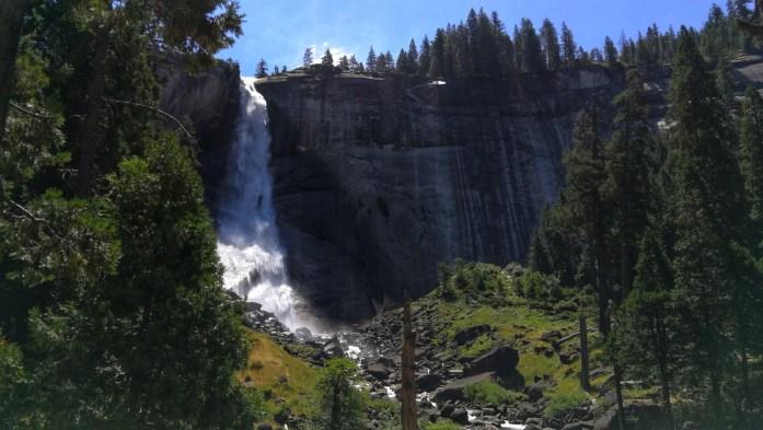 Blick auf den Nevada Wasserfall