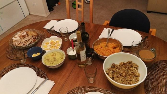 Thanksgiving Dinner in Kanada