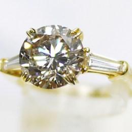 2.55ctダイヤモンド・K18リング