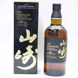 【ウイスキー】Suntory YAMAZAKI 18YEARS [サントリー 山崎 18年]/700ml