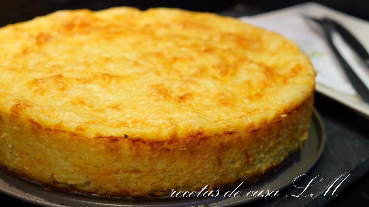 Pastel de carne y patata muy fácil