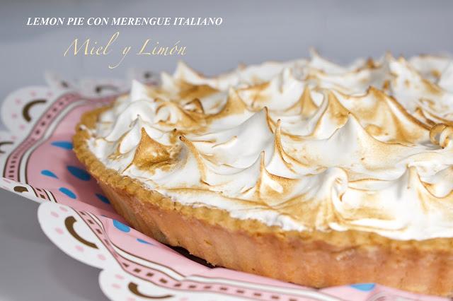Lemon pie con merengue italiano
