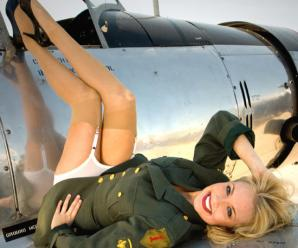 "Coach of the 'Miss Universe' contest, ""Stay always in shape in an airplane!"""