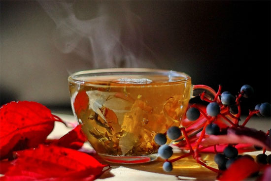 Green tea, how to stay warm in winter