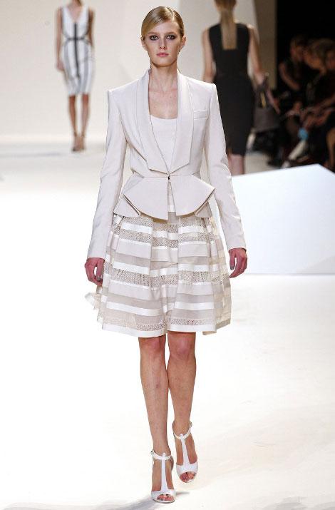 Elie Saab spring-summer 2013 pret-a-porter white dresses for women