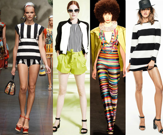 stripes trends ss 2013 Top trends fashion spring summer